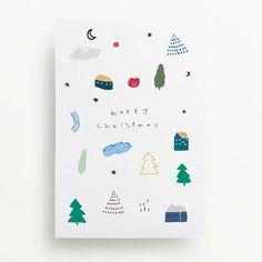 Happy Holidays Card | Etsy