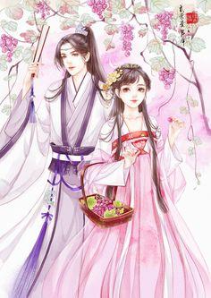 紫玉葡萄-槿木-_-__涂鸦王国插画