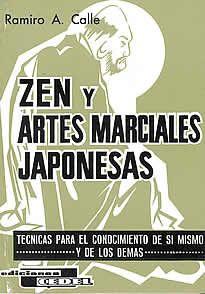 """Zen y artes marciales japonesas de R. Calle editado por Cedel.Es muy probable que si yo fuera un verdadero zenista no escribiese este libro, y no por aquello tan predicado por los sistemas orientales de que """"quien lo conoce no habla de Él; quien habla de Él no lo conoce"""", sino porque habría llegado a la deducción de que la doctrina pura del Zenno es traducible a palabras."""