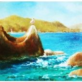 Original Artwork, Original Paintings, Virgin Gorda, Oil Painting For Sale, Fishing Charters, British Virgin Islands, Aphrodite, Medium Art, Oil Paintings