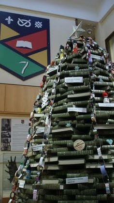 The Christmas tree made out of books at Keele University – top work! Career Inspiration, Book Stuff, Study Abroad, Love Book, Making Out, Countryside, Innovation, Bubbles, University