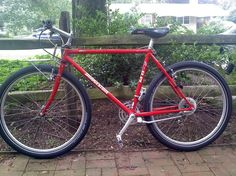 I have the Bridgestone MB-2, which I turned into a single-speed. Took it out for a cruise today.