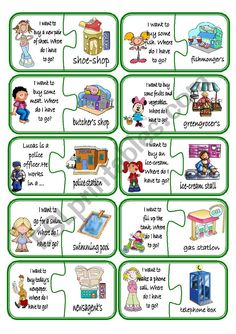 Puzzle - English ESL Worksheets for distance learning and physical classrooms English Worksheets For Kids, English Lessons For Kids, English Resources, Kids English, English Activities, Learn English, Preschool Activities, English Games For Kids, French Lessons