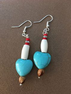 A personal favorite from my Etsy shop https://www.etsy.com/listing/478154716/ghost-bead-southwest-style-turquoise
