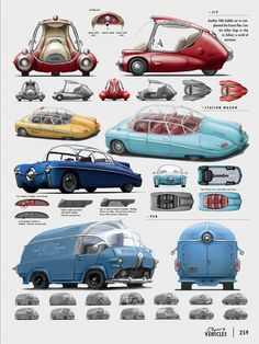 Original concept art for cars of Fallout a game based around retro futurism Fallout Concept Art, Fallout Art, Thelma Y Louise, Carros Vw, Hybrids And Electric Cars, Futuristic Cars, Car Sketch, Car Drawings, Future Car