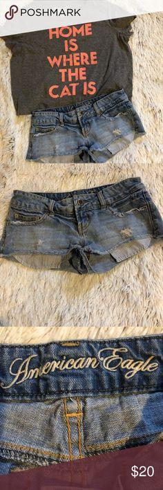 American eagle shorts Cute distressed American eagle shorts American Eagle Outfitters Shorts Jean Shorts