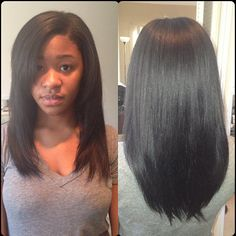 hairstyles with front bangs : Flat Iron Success! on Pinterest Natural Hair, Flat Irons and Natural ...