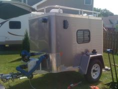 Cargo Trailer morphed into off-road trailer - Expedition Portal