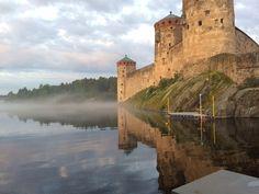 Northernmost medieval castle in Europe in Savonlinna, Finland