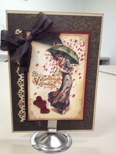 Rock Paper Scissors, Redding CA: Love is in the Air Card Class - Card 1