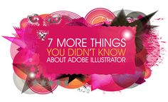 New Illustrator tutorials