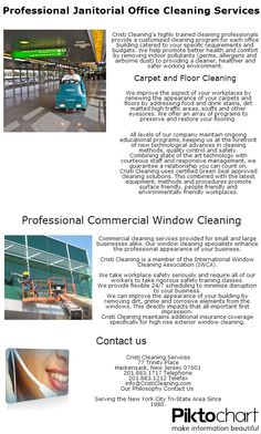 Folder/brochure (commercial cleaning services) | Commercial ...