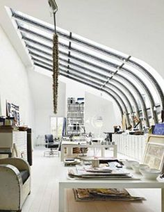 Amazing what skylights could do to a space.