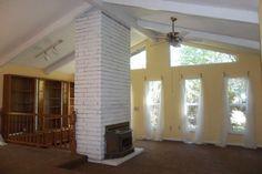 The living room at Casa Carolinda on Rose Court.
