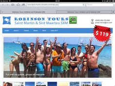 Robinson boat tours & excursions St Maarten  Hope to see you soon in St Maarten. We organise the best tours to spend your day on the island. Robinson speed boats tours. Discovery the islands with us , visit our website www.boat-charter-stmartin.com