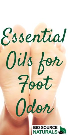 Essential oils helpful in reducing #foot odor.