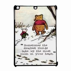 Winnie The Pooh Quote iPad Air Case