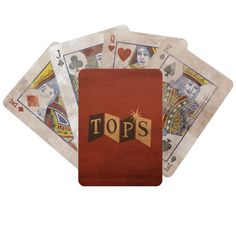 Fallout New Vegas The Tops Playing Cards