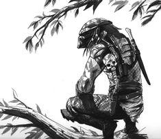 Predator Sketch by Jedi-Art-Trick on deviantART