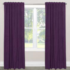 Skyline Velvet Blackout Window Curtain Panel (Velvet Navy, 120), Blue, Size 50 x 120 (Fabric, Solid)