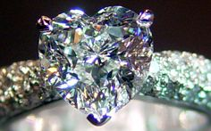 "The Heart Cut Diamond - one of the perennially popular ""fancy"" shapes, the heart cut has been in use for centuries. Heart Shaped Diamond Ring, Diamond Rings, Diamond Cuts, Wedding Jewelry, Jewelry Box, Jewelery, Fine Jewelry, Diamond Are A Girls Best Friend, Heart Shapes"