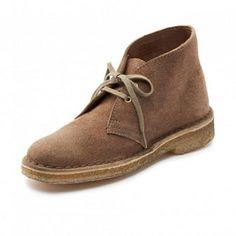 Clarks Originals™ Women's 'Desert Boot' Leather Casual Shoe - 1