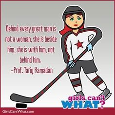 Yes. Yes, he gets it! (Hockey design: http://www.girlscantwhat.com/colorize/?id=45&snapshot=16583