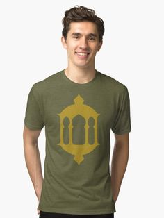 Fanoos ( Gold ) by wowarts  / Tri-blend T-Shirts