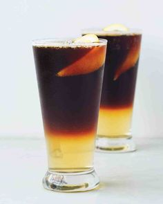 Sparkling Black and Tan Recipe from Martha Stewart