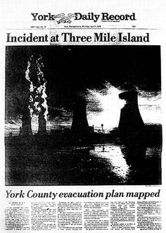 Today marks the anniversary of the Three Mile Island nuclear disaster that gripped our nation with fear 32 years ago. Description from firstalongtheriver.wordpress.com. I searched for this on bing.com/images