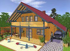 Wohnträume aus Holz - Blockhaus-Canada ? Wohn-Blockhäuser 1