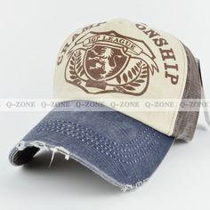 Nuevo The Lion Logo Baseball Caps moda para hombres y mujeres a hacer Formas Retro Old Hat 1005 en gorras de béisbol de Ropa y Accesorios de Ali ...