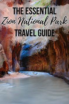The Essential Zion National Park Travel Guide Plan your trip to Zion National Park with this Zion travel guide, complete with info on Zion's campgrounds, must-do trails, permits, park shuttle & more. National Park Camping, Us National Parks, Parc National, Zion Camping, Nationalparks Usa, Monument Valley, Utah Parks, Utah Vacation, Vacation Ideas