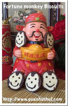 Posts about Food Preparation Series written by Kenneth Goh Chinese New Year Cookies, Chinese New Year Crafts, New Year's Crafts, Chinese Culture, Food Preparation, Monkey, Biscuits, Invitations, Christmas Ornaments