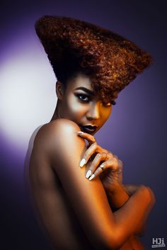 A tapered cut to creating geometric shape and a pompadour. Most Common Hair Color, Anthony Grant, Sweet Like Chocolate, Hair Shows, Pompadour, Cosmetology, Cut And Color, Geometric Shapes, Hairdresser