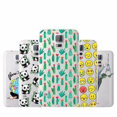 Fashion Soft TPU Case Cover For Samsung Galaxy S5 Mini G800 Soft Silicone TPU Back Cover For Samsung S5 Mini S5Mini Phone Cases