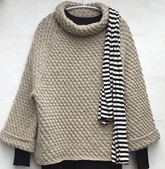 Ravelry: Windbreaker pattern by Lone Kjeldsen