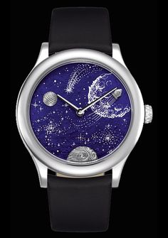 Midnight Les 4 Voyages - From the Earth to the Moon - Van Cleef & Arpels