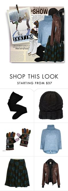 """""""Ice Skating"""" by milva-bg ❤ liked on Polyvore featuring Fogal, Eugenia Kim, NOVICA, River Island and Kenzo"""