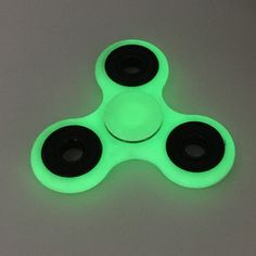 Hand Spinner Toy For Autism ADHD Plastic EDC Fidget Spinner High Quality Fluorescen Office Increase Focus Keep Hands Busy Toys