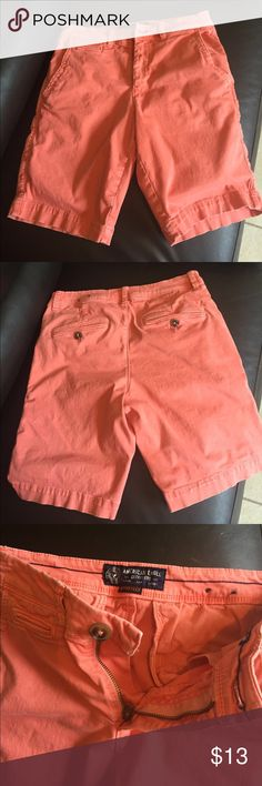 Pink american eagle shorts Pink american eagle active flex 28waist shorts in perfect condition American Eagle Outfitters Shorts Flat Front