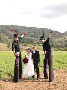 A Circus Wedding in California