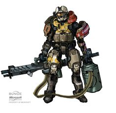ArtStation - Halo: REACH Jorge, Isaac Hannaford