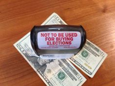 Stamp Money Out Of Politics - Not To Be Used For Buying Elections - http://www.stampstampede.org/products/pfaw-stamp-not-to-be-used-for-buying-elections#.UkDxz74o7IV