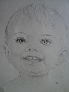 Close up portrait of a young boy
