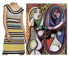 Pop of Culture: Picasso inspired trends @ Trend de la Creme Picasso, Folk Art, Culture, Style Inspiration, Inspired, Tank Tops, Fashion Design, Trends, Dance
