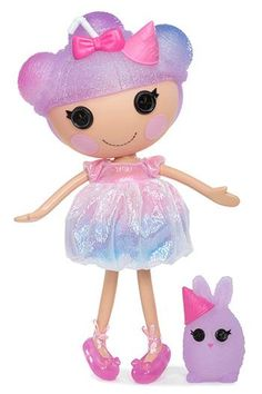 Here's another sneak peek at a new large #Lalaloopsy #doll coming this fall! Frost I.C Cone was made from a snowcone. She's super sweet and colorful. She loves to make frozen treats for her friends on hot summer days, only they always melt before she can share them. Her sewn on date is Sept 22nd which just so happens to be National Ice Cream Cone Day!