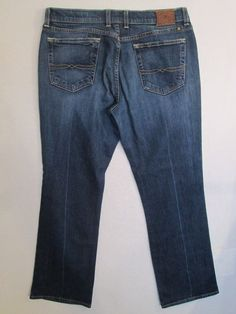 # 114-Women's * LUCKY BRAND * Classic Riders Denim Jeans Measures-33X29-Size 12 #LuckyBrand #BootCut