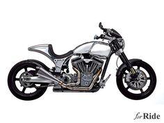 キアヌ・リーブスの手がけるバイク「Arch KRGT-1」が芸術的!