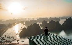 A stunning Halong Bay in Vietnam